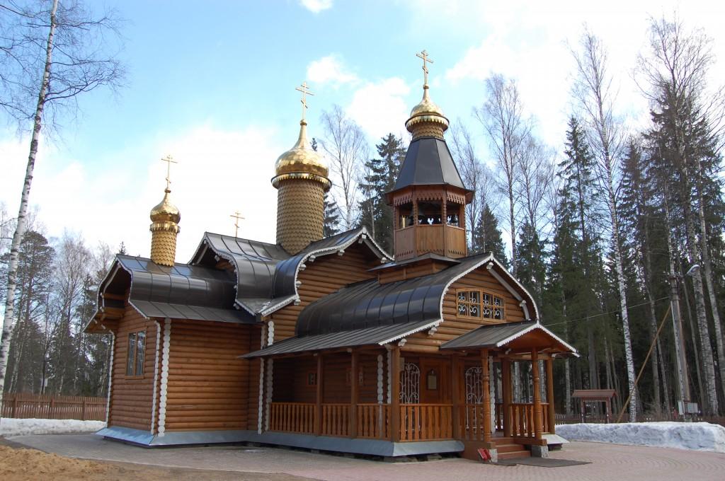 Храм свв. Бориса и Глеба в Агалатово