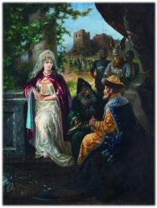 Ярослав Мудрый и принцесса Ингигерд.