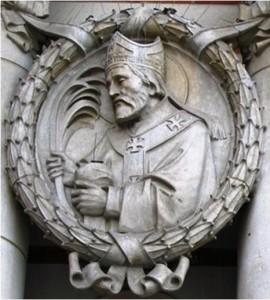 Сщмч. Альфедж, архиепископ Дорувернский